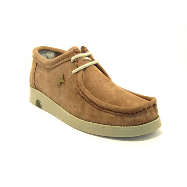 La Autentica Safari Wallabees Tabaco