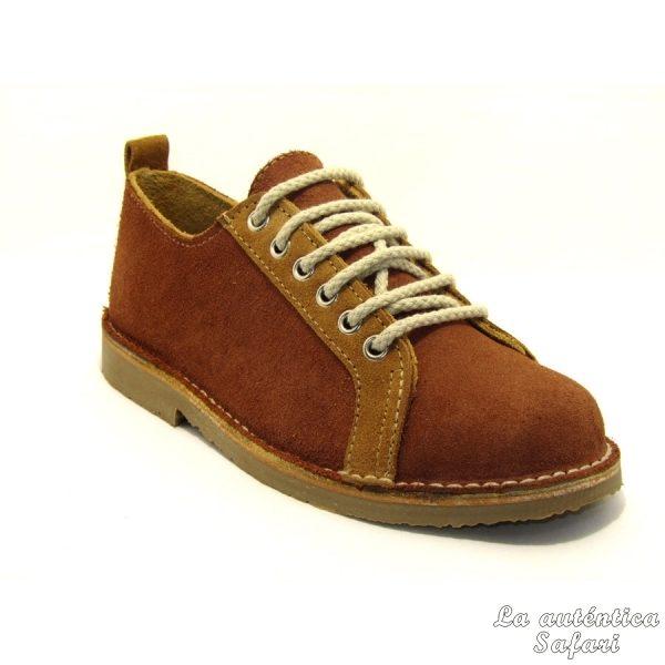 Zapato deportivo Castaño Tierra