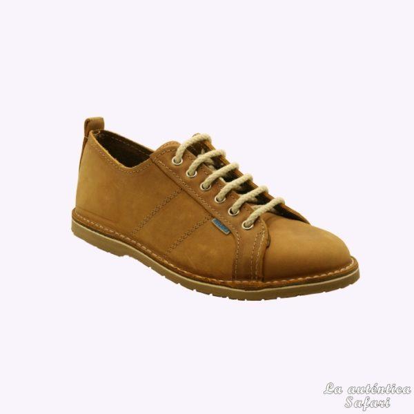 Zapato deportivo piel Melocotón
