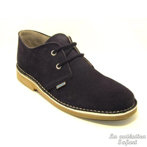 Zapato safari Azul Marino