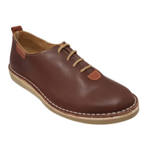 Zapato safari detalle cara