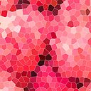 Mosaico rojo